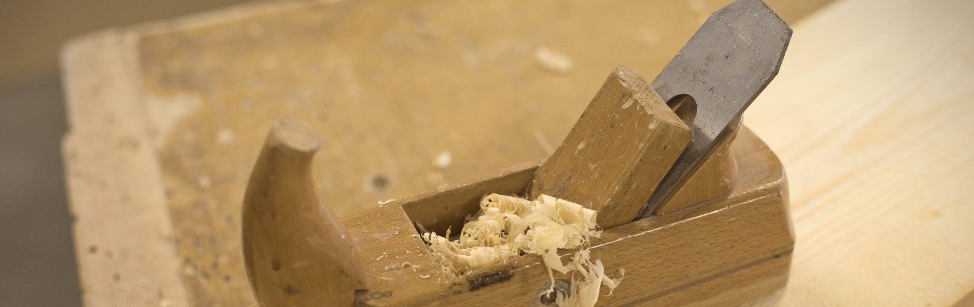 dettaglio trucioli lavorazione legno