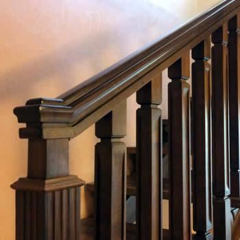 scala in legno su misura