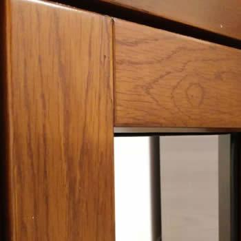 realizzazione di un telaio in legno porta su misura