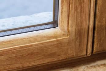 esempio di restauro di infissi in legno